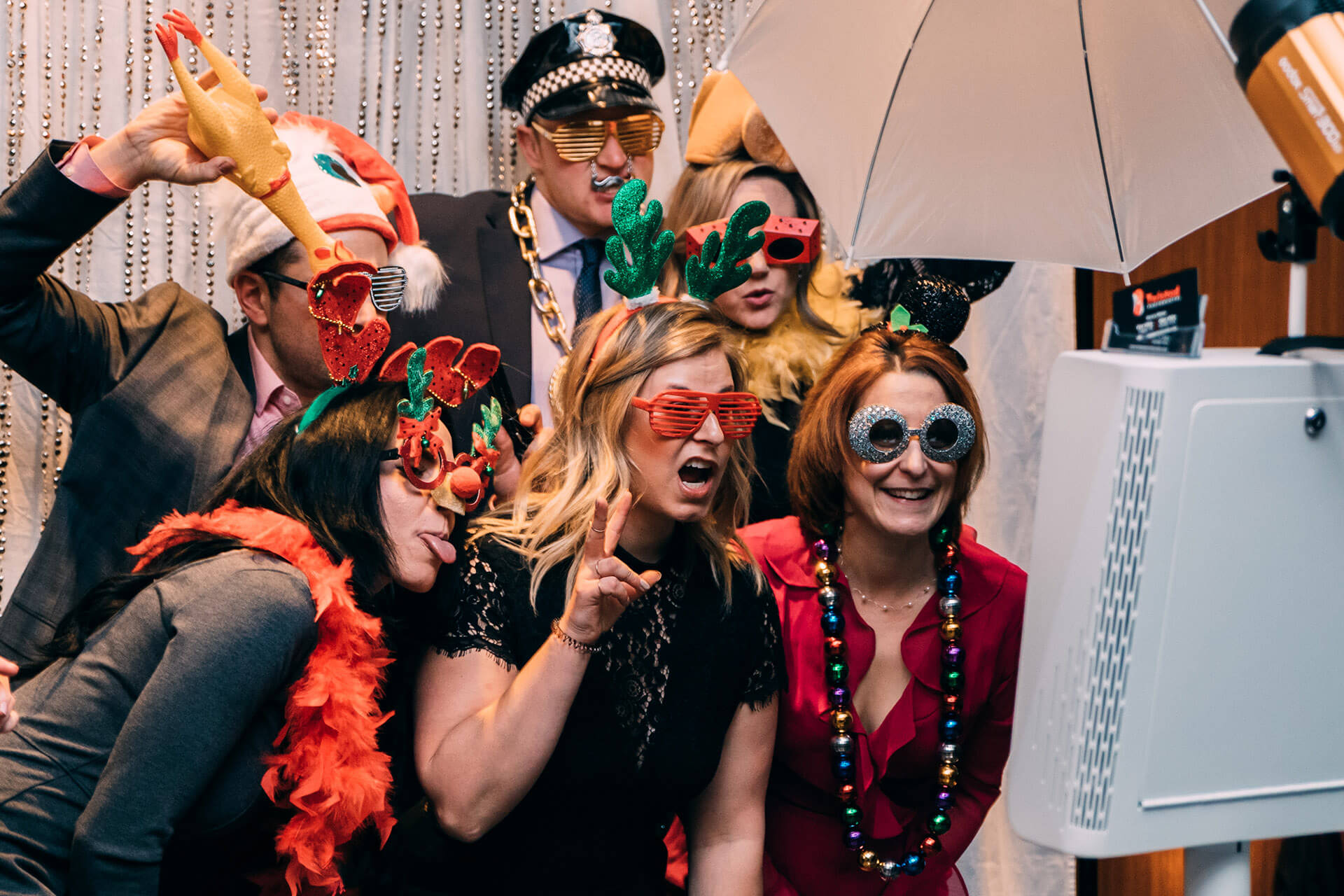 Twisted photo booth event in Calgary